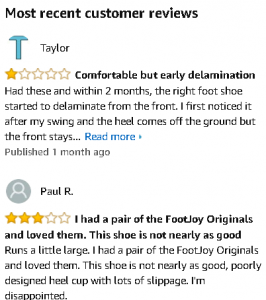 footjoy contour review