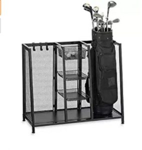 Golf bag organizer, best golf organizer, golf equipment organizer, best of golf organizer