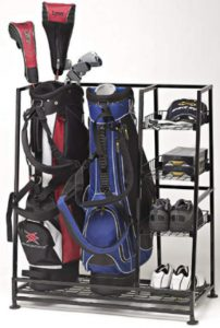 Golf bag organizer, golf equipment organizer, perfect bag organizer