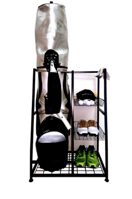 Golf bag organizer, golf bag holder.