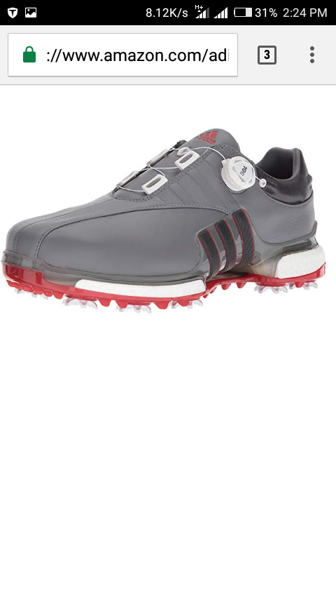 Adidas best price ever for quality golf shoe