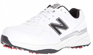new balanced men's, spiked golf shoe.