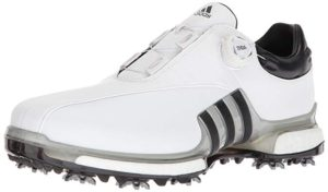 Wide footed, golf shoe, comfortable golf shoe, comfortable shoe, wide footed shoe, durable and comfortable