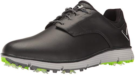 men shoe, spiked, golf shoe, spiked footwear, golf, spiked shoe
