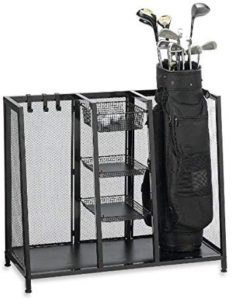 golf, golf bag, bag organizer, best organizer, bag garage