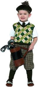 golf attire, complete attire, toddler attire, kids costume, golf wears