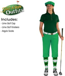 golfers costume, female golfer, golfing attire, golf cloths, best, golf outfit