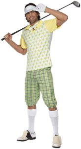 typical attire, typical costume, golf sport, adult costume