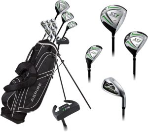 Low price, low budget, cheap clubs, complete club set, cheap cost
