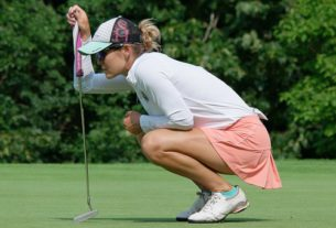 blade putters, best leftie, leftie women
