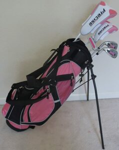 golf club, complete set, tall women, best set. for tall
