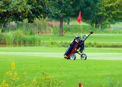 5 OF THE BEST FOUR(4) WHEELED GOLF CARTS-(NOT THREE WHEELED CARTS)