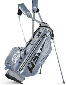 water repellant, stand bag, resistant to water