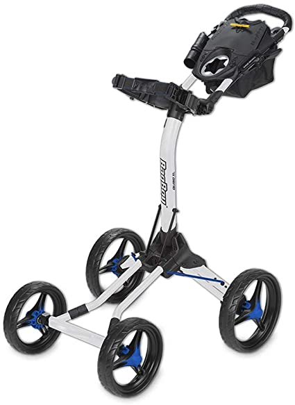 quad xl, push cart, bag boy