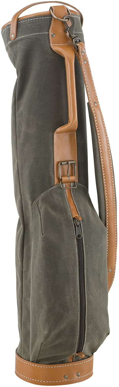 American Belding collection golf bag leather